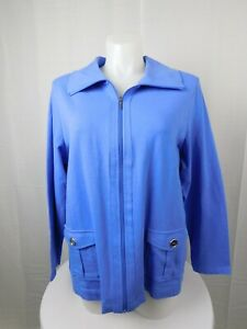 ad639fd1e3add Image is loading Karen-Scott-Plus-Size-Zip-Front-Sweatshirt-Jacket-