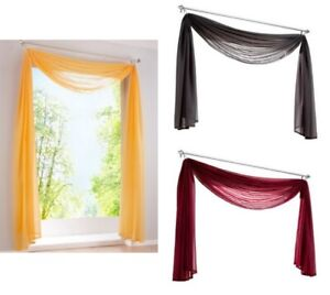 Window-Scarf-European-Style-Valances-Curtain-Voile-For-Living-Room-Office-Decor