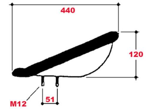 Sede cáscara respaldo 12 cm /_ eicher /_