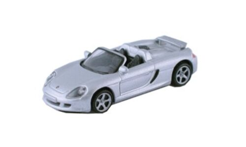 PORSCHE Carrera GT 2003 ARGENTO 1:87 h0 modelpower 19350 Modello Di Auto Auto Modello