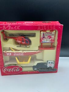 Coca-Cola-Toy-Set-Never-Used-With-Packaging-Top-Condition