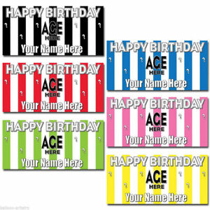 4-5ft-Giant-Stripes-Striped-Personalised-Birthday-Plastic-Sign-Banner-Decoration