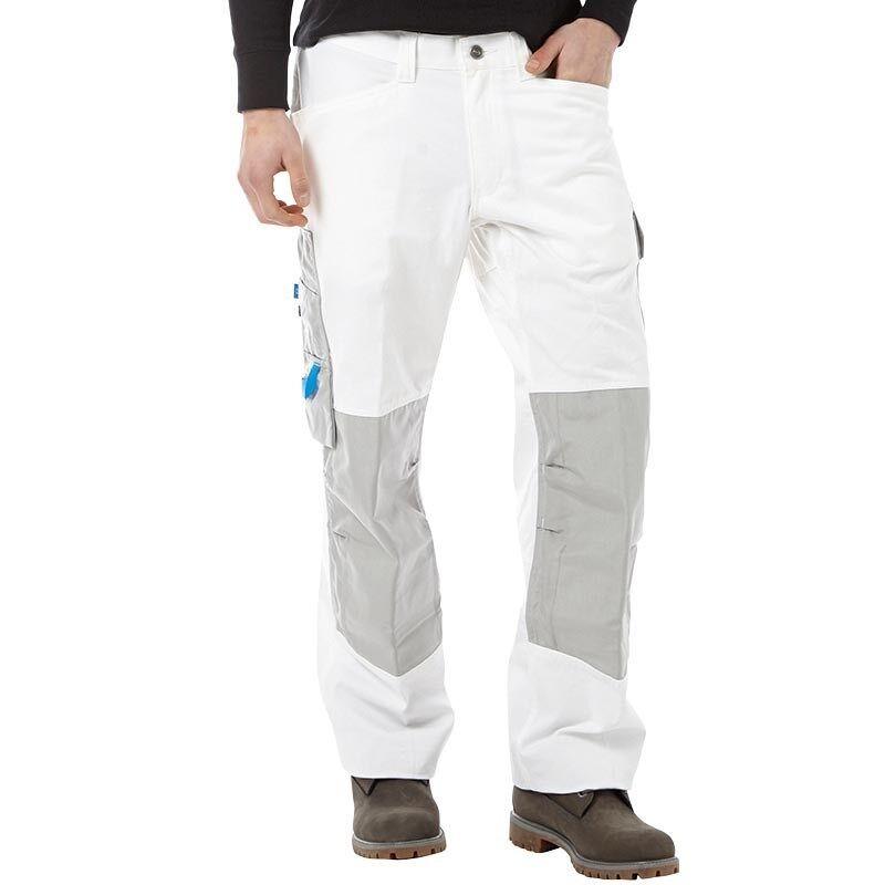 Blanc Hansen Renforcé L33 Helly Cassé London Workwear Pantalon ZwqdYv6