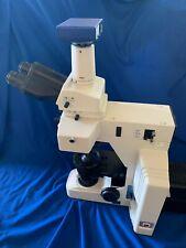 Nikon Eclipse E600 Y Fl Microscope With Zeiss Ccd Axiocam Mrc Camera