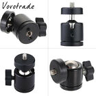 "Black Mini 1/4"" 360 Swivel Ball Head Screw For Camera Tripod DSLR Monopod head"