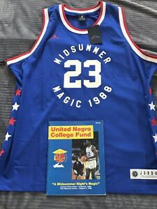 innovative design 4a25f 89741 Details about 1988 Nike Midsummer Magic UNCF Charity Michael Jordan All  Star Game Jersey🔥XXL