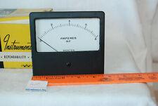 Vintage Weston Rf Model 1941 Microamperes Meter Untested
