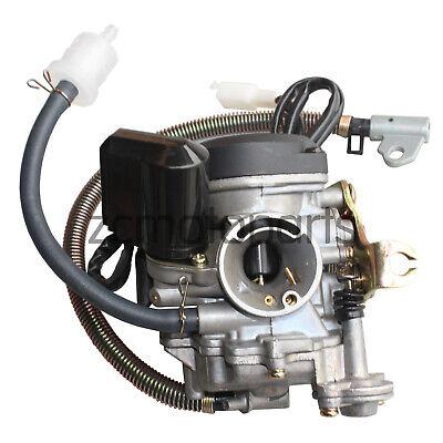 18mm Keihin Cvk Pd18j Carburetor For Gy6 50 50cc 139qmb Scooter Jonway Taotao Ebay