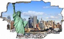 Freiheitsstatue New York USA Wandtattoo Wandsticker Wandaufkleber H0636