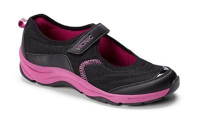 Comfort Shoes Nwob Vionic Action Sunset Orthaheel Shoe Sneaker Black Pink Women's Sz 6 At All Costs Clothing, Shoes & Accessories