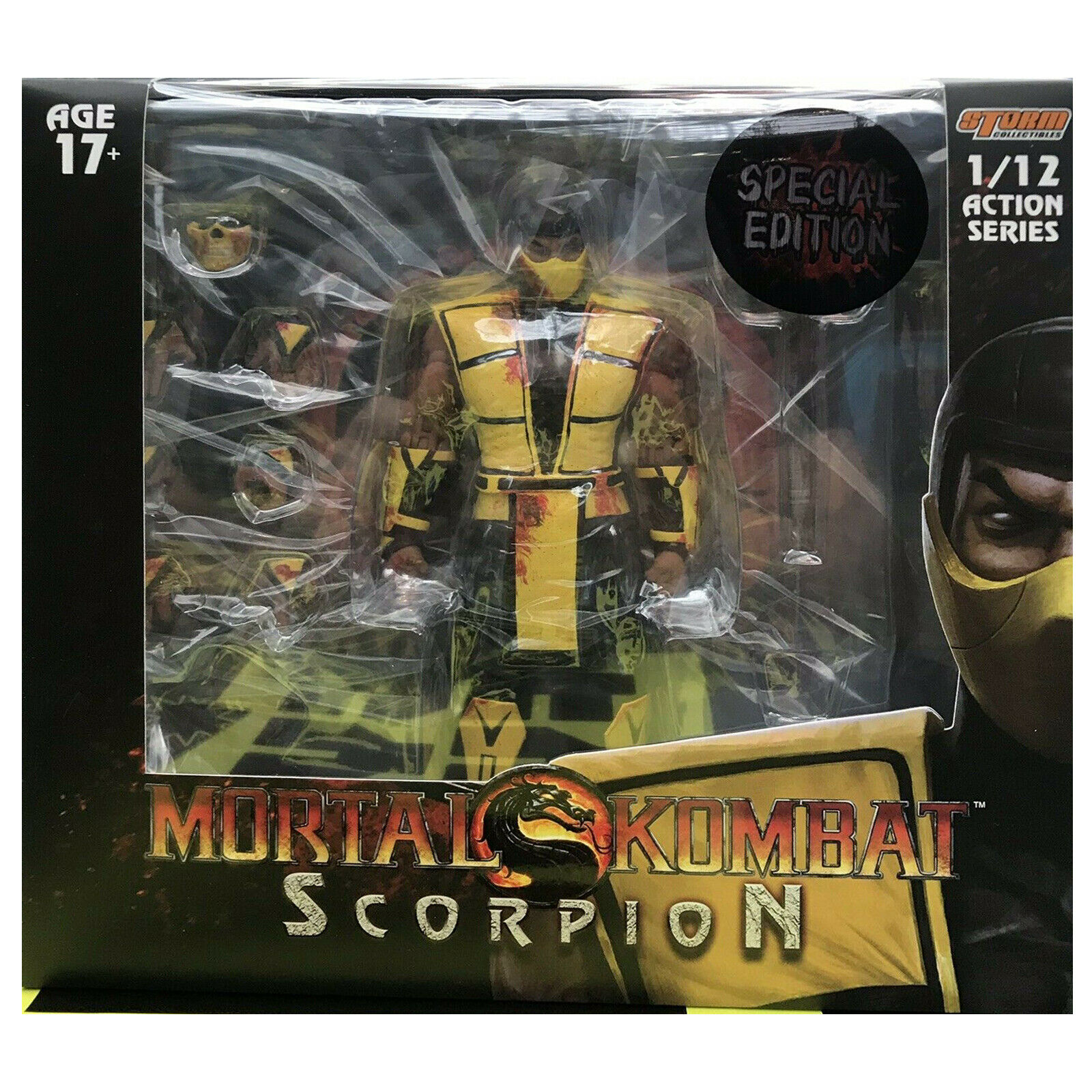 Storm Collectibles Mortal Kombat Bloody Scorpion 2019 NYCC Exclusive NewSealed