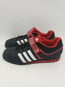 Adidas-PowerLift-II-Weight-Training-Powerlifting-Shoes-Q33821-Men-039-s-Size-12-5