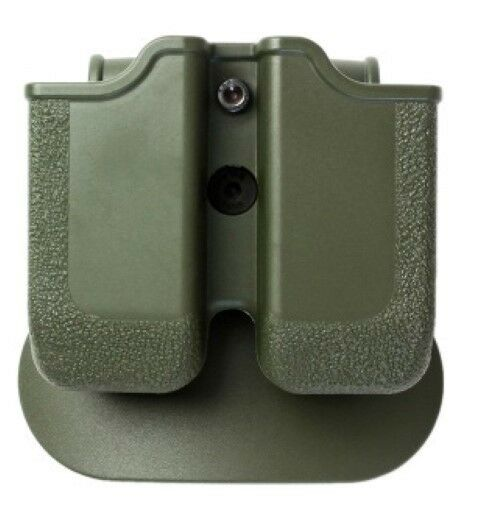 Z2050 IMI Defense Green Right Hand Double Magazine Pouch Sig Sauer P250 .45 ACP