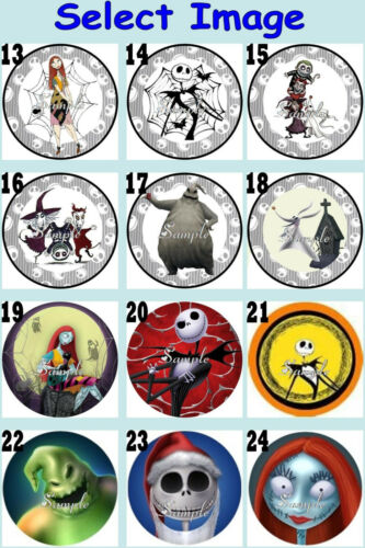 The NIGHTMARE BEFORE CHRISTMAS Childrens Ribbon Necklace U Choose Image Jack