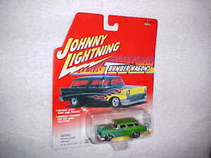 Johnny-Lightning-THUNDER-WAGONS-CUSTOM-039-56-NOMAD-Diecast-car-VHTF-NEW