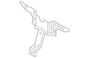 Genuine Mazda Lock Support KD53-52-15Y