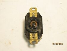 Hubbell 2410A TwistLock 20a 125/250v 3p 4w grounding receptacle