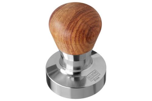 "Scarlet Espresso Tamper /""Passion/"" avec ergonomique Poignée en Acier inoxydable base Barista"
