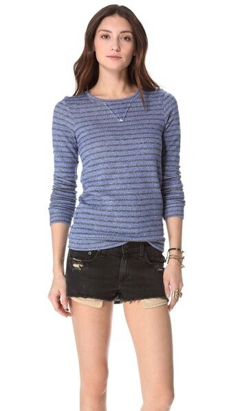 Nightcap Striped Terry Sweatshirt    Shopbop   SOLD OUT