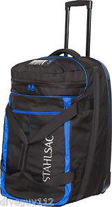 Stahlsac Jamaican Smuggler Scuba Diving Roller Travel Gear Bag Blue NEW