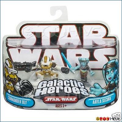 Star Wars Galactic Heroes Commander Bly & Aayla Secura