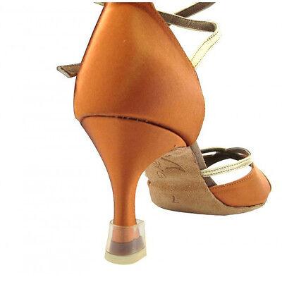 HenryG Dance Shoes Flare Heel Protectors, Ballroom Shoes Heel Capes