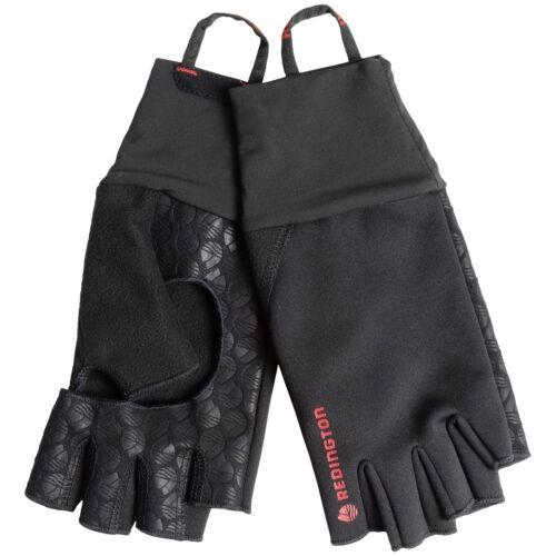 L//XL Redington Fly Fishing Palm Free Fingerless Soft Shell Sun Wind Gloves