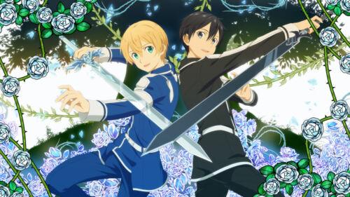 Sword Art Online Kirito Eugeo Wallpaper Poster 24 x 14 inches