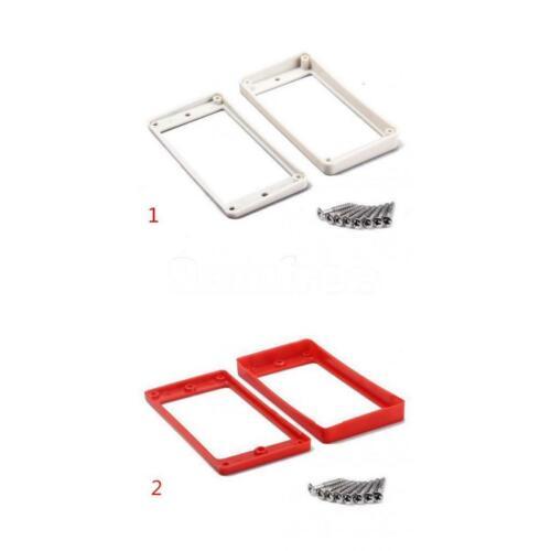 Hochwertiger weißer Plastik Pickup Mounting Ring für E-Gitarre mit