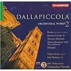 Luigi Dallapiccola - Dallapiccola: Orchestral Works Vol. 2 (2010)