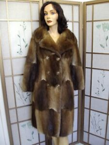 6 Jacket Size Small Women Muskrat Mint Natural Canadian Coat Fur Woman pwBozSfq