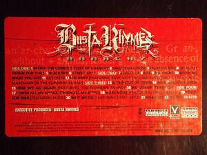 BUSTA-RHYMES-ANARCHY-VINYL-2LP-2000-RARE-FLIPMODE-WU-TANG-M-O-P