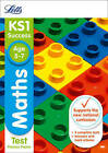 KS1 Maths Practice Test Papers by Letts KS1 (Paperback, 2015)