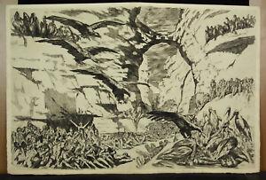 Fernand-Hertenberger-1882-1970-Eau-Forte-Original-Flaubert-Salammbo