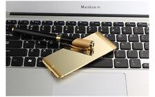 "Oro Untra-thin 1.63"" Anica A7 Dual Sim Bluetooth Mini Touch Card Teléfono móvil"