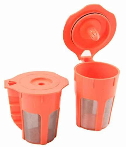 2 Pack STK Carafes Refillable Filters Brewers Carafes for Keurig 2.0