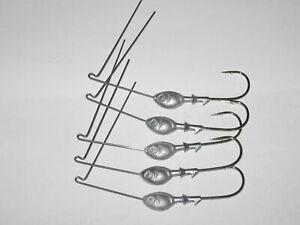 5-3//4 oz Bend .035 Wire Unpainted Spinnerbait Heads R