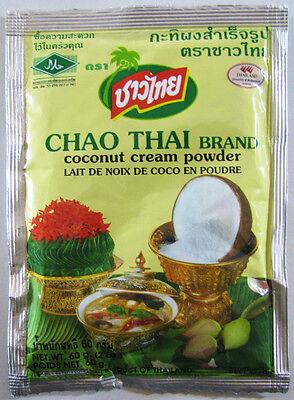 Thai Coconut Milk Water Cream Powder Size 60 G (2.0 Oz) No Preservative , No MSG