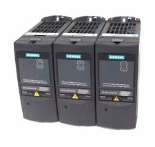 LOT OF 3 NEW SIEMENS 6SE6420-2UD17-5AA1 MICROMASTER 420 DRIVE 6SE64202UD175AA1