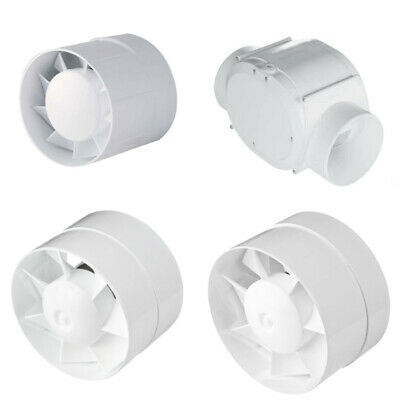 Rohrventilator Rohrlüfter Ventilator Duct Fan Lüfter Gebläse Motor Ø 100 125 150
