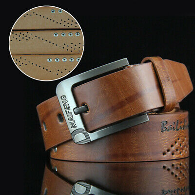 Casual Women/'s Men/'s Faux Leather Belt Pin Belts Waistband Buckle Waist Strap MT