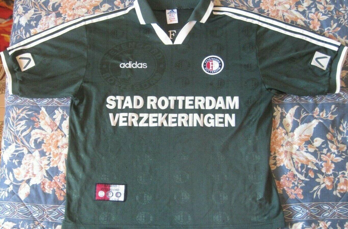 Camiseta Shirt Trikot FEYENOORD Adidas Season 1997 Diuominiione L