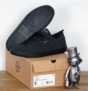 Huf-Worldwide-Footwear-Skate-Schuhe-Shoes-Boyd-Black-Mono-11-5-45