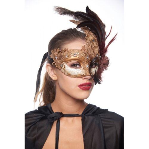 Brocade Lace Couple Masquerade Ball Mask Renaissance Costume Dress up Party