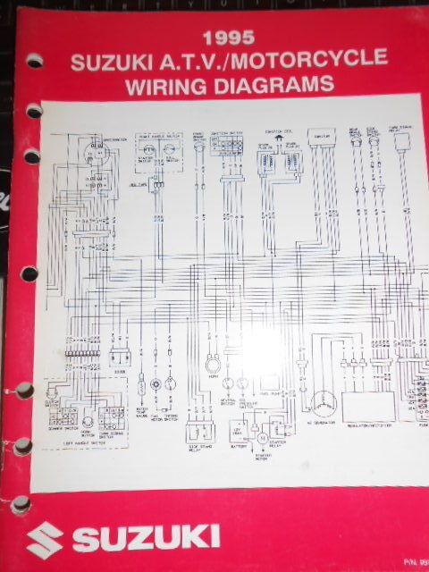 Suzuki Factory Wiring Diagram 1995