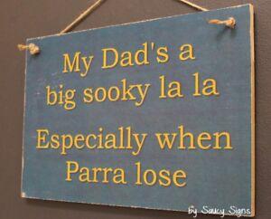 Sooky-Dad-Parramatta-Eels-Parra-Footy-Sign-Jersey-Cards-Rugby-League-Etc