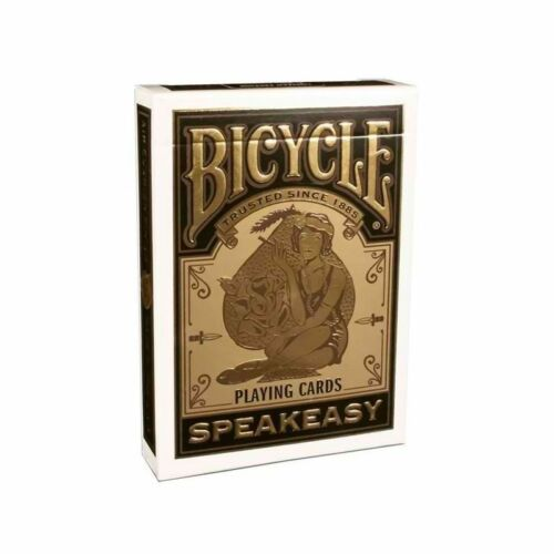 $ Bicycle Speakeasy Deck Playing Cards USPCC Rare New Sealed $
