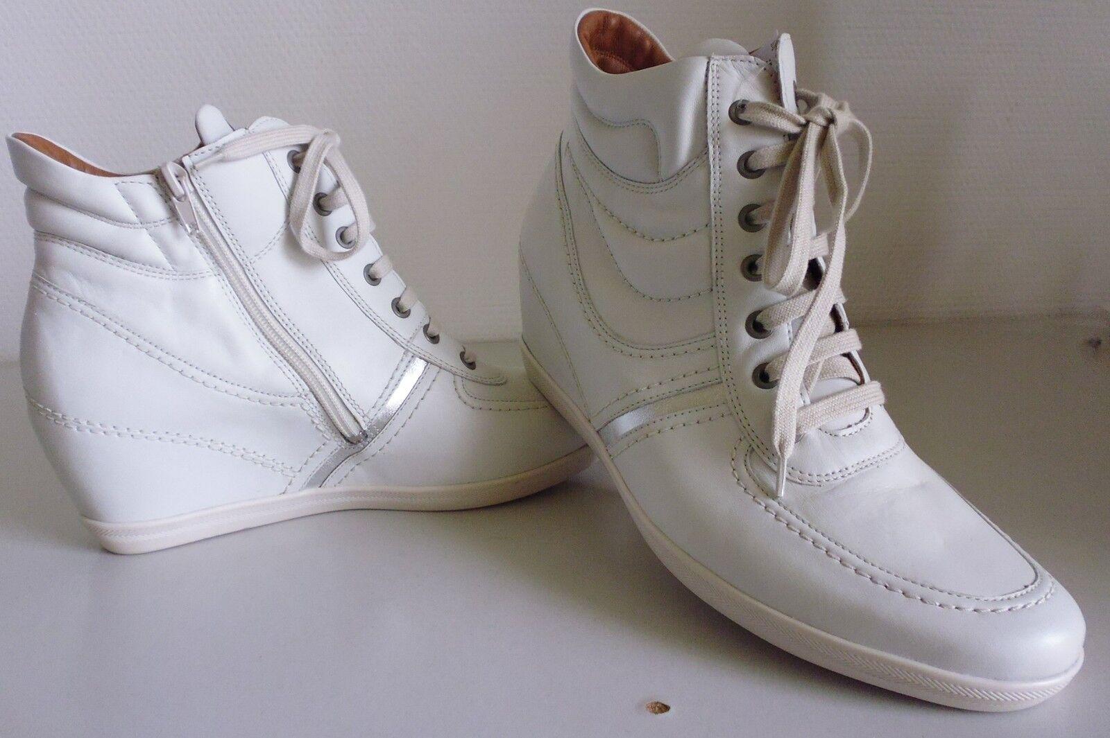 Zapatos cordones botines de cuero ara /42,5 ancho H