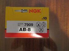 Set of 10 NGK Standard Spark Plugs ski-Doo ALPINE 1981-1979 Engine 640cc