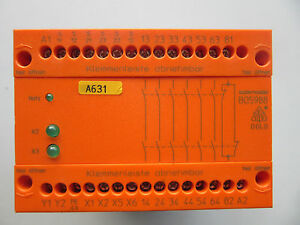 Details about E Dold & Sohne B05988 61 Safemaster 24V DC Safety Relay  VGC!!! Free Shipping